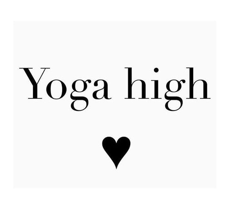 Yoga – a natural high?!